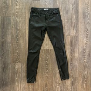Joie fake leather pants